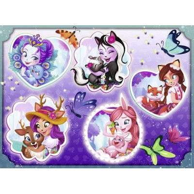 Puzzle  Ravensburger-10054 XXL Teile - Enchantimals