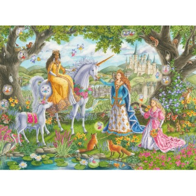 Puzzle Ravensburger-10402 XXL Teile - Prinzessinnen