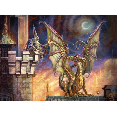 Puzzle  Ravensburger-10405 XXL Teile - Das Geschenk des Feuers
