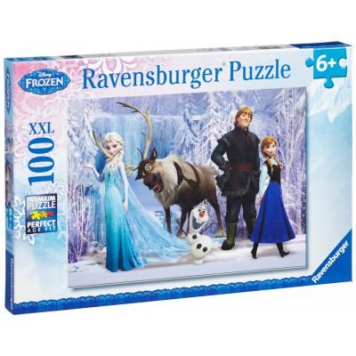 Puzzle  Ravensburger-10516 Im Reich der Schneekönigin