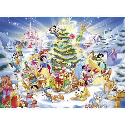 Puzzle Ravensburger-10545 XXL Teile - Disney Christmas Magic