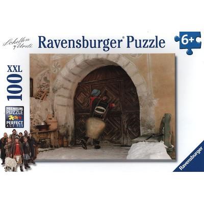 Puzzle  Ravensburger-10598 XXL Teile - Schellen Ursli