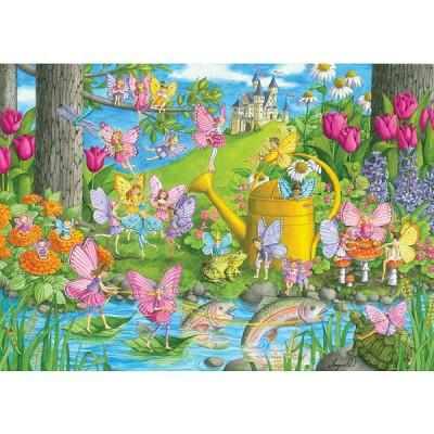 Puzzle Ravensburger-10602 Magischer Garten
