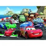 Puzzle  Ravensburger-10615 Cars 2: Brisantes Rennen