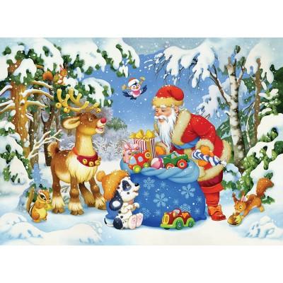 Puzzle  Ravensburger-10654 XXL Teile - Santa Claus
