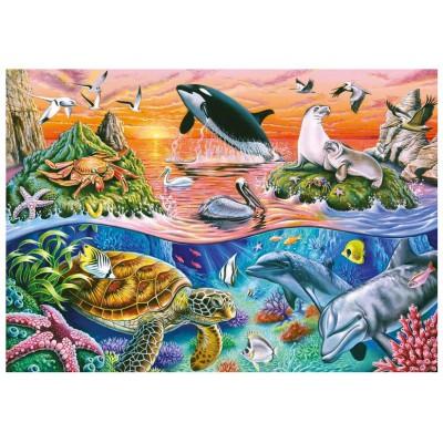 Puzzle Ravensburger-10681 Bunter Ozean