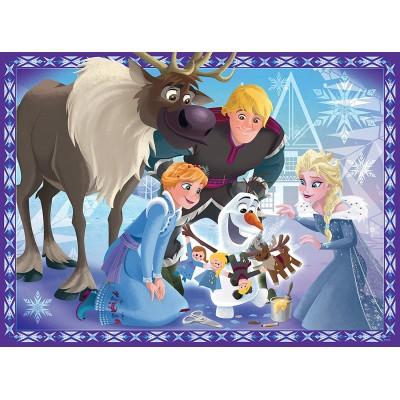 Puzzle  Ravensburger-10730 XXL Teile - Frozen - Die Eiskönigin