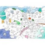 Ravensburger-10734 Color Puzzle - Tiere