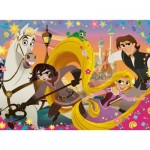 Puzzle  Ravensburger-10750 XXL Teile - Disney Tangled