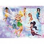 Puzzle  Ravensburger-10852 Die zauberhafte Welt der Fairies