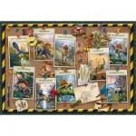 Puzzle  Ravensburger-10868 XXL Teile - Dinosauriersammlung