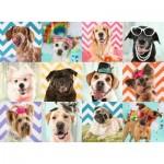 Puzzle  Ravensburger-10870 XXL Teile - Lustige Hunde
