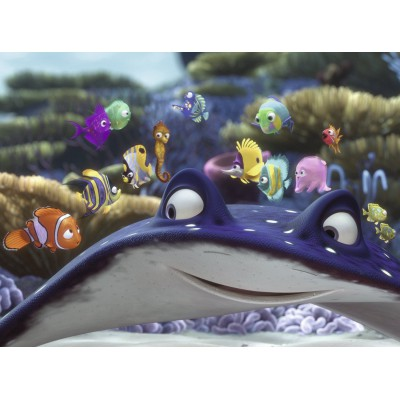 Puzzle  Ravensburger-10912 Nemo und seine Freunde