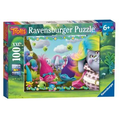 Puzzle  Ravensburger-10916 XXL Teile - Trolls