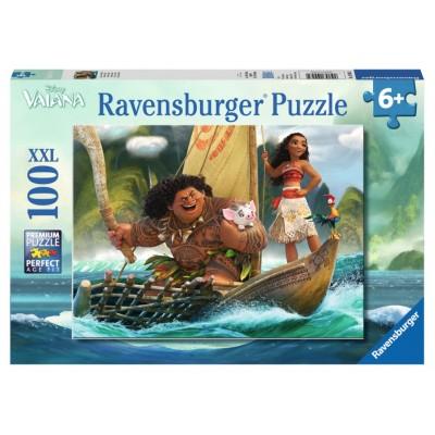 Puzzle  Ravensburger-10943 XXL Teile - Vaiana et Maui