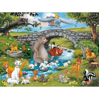 Puzzle  Ravensburger-10947 Tierisch gute Freunde!