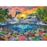 Puzzle  Ravensburger-10950 XXL Teile - Tropisches Paradies