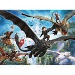 Puzzle  Ravensburger-10955 XXL Teile - Dragon