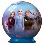 Ravensburger-11142 3D Puzzle - Frozen II