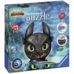 Ravensburger-11145 3D Puzzle - DreamWorks - Dragon