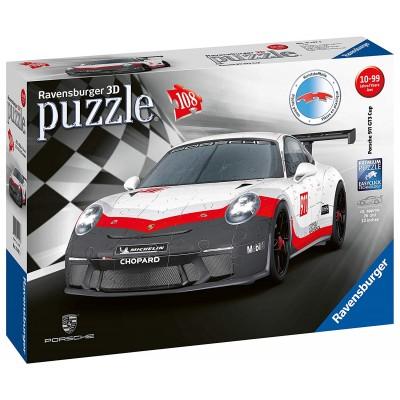 Ravensburger-11147 3D Puzzle - Porsche 911 GT3 Cup
