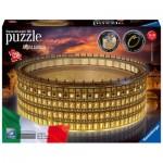 Ravensburger-11148 3D Puzzle mit LED - Kolosseum