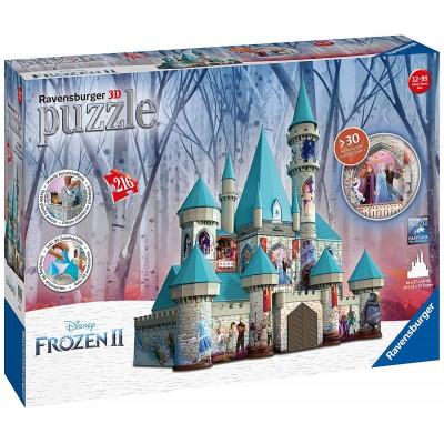 Ravensburger-11156 3D Puzzle - Frozen II