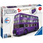 Ravensburger-11158 3D Puzzle - Harry Potter - Magicobus