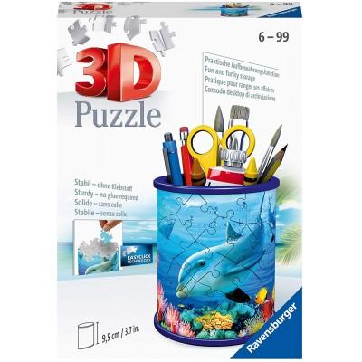 Ravensburger-11176 3D Puzzle - Utensilo - Unterwasserwelt