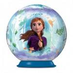 Ravensburger-11182-02 3D Puzzle Ball - Frozen II