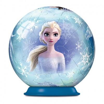 Ravensburger-11182-03 3D Puzzle Ball - Frozen II