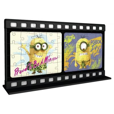 Ravensburger-11208 3D Puzzle - Minions