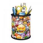 Ravensburger-11217 3D Puzzle - Emoji Utensilo
