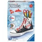 Ravensburger-11224 3D Puzzle - Sneacker - Prag