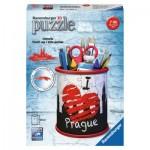 Ravensburger-11225 3D Puzzle - Utensilo - Prag