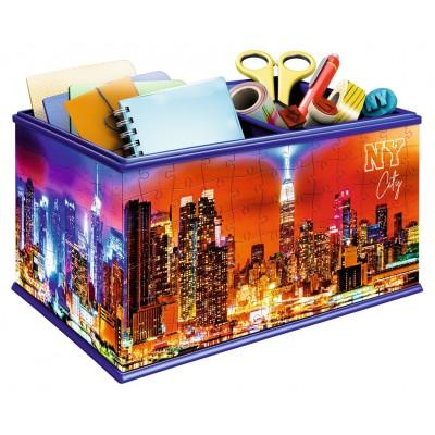 Ravensburger-11227 3D Puzzle - Aufbewahrungsbox Skyline