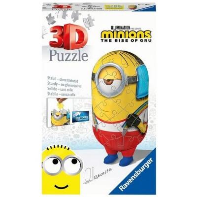 Ravensburger-11228 3D Puzzle - Minions