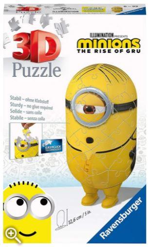 Ravensburger-11230 3D Puzzle - Minions