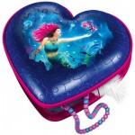 Ravensburger-11249 3D Puzzle - Heart Box - Mermaid