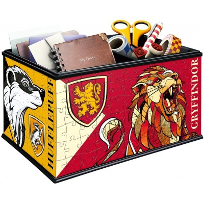 Ravensburger-11258 3D Puzzle - Storage Box - Harry Potter