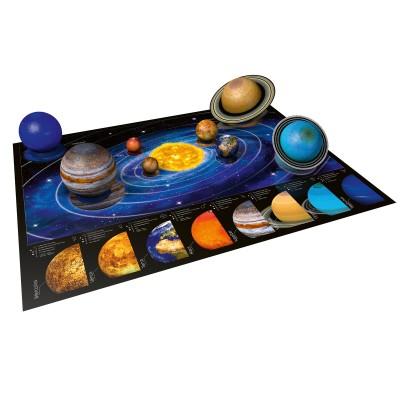Ravensburger-11668 8 3D Puzzles - Planetensystem