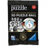 Ravensburger-11707 3D Puzzle Ball - Fußballspieler - Überraschung