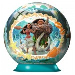 Ravensburger-11793 3D Puzzle-Ball - Vaiana