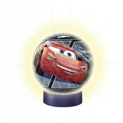 Ravensburger-11818 3D Nacht-Licht Puzzle - Cars 3