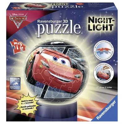 Ravensburger-11820 3D Puzzle mit LED - Cars 3