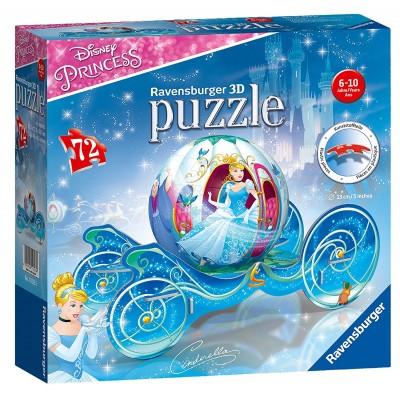 Ravensburger-11823 3D Puzzle - Disney Princess