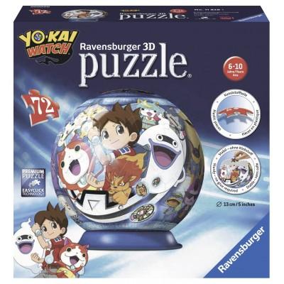 Ravensburger-11828 3 Puzzles - Yo-Kai Watch