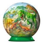 Ravensburger-11838 3D Puzzle-Ball - Dinosaurier