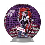 Ravensburger-11899-03 3D Puzzle - Monster High: Operetta