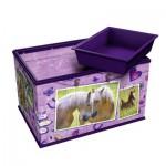 Ravensburger-12072 3D Puzzle - Girly Girls Edition - Aufbewahrungsbox Pferde